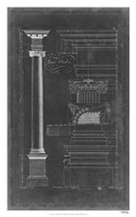Ionic Order Blueprint Fine-Art Print