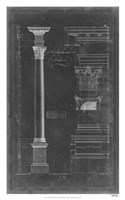 Corinthian Order Blueprint Fine-Art Print