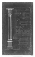 Doric Order Blueprint Fine-Art Print