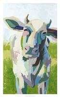 Painterly Cow II Fine-Art Print
