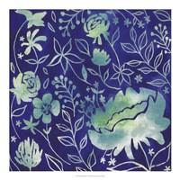 Indigo Batik II Fine-Art Print