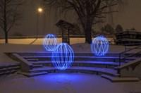 Spheres On The Steps Fine-Art Print