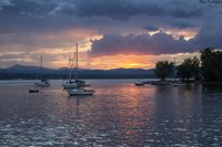 Dusk On Lake Champlain Fine-Art Print
