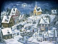 A Hidden Mountain Village Fine-Art Print