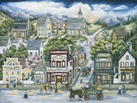 The Mining Town Of Silver City Fine-Art Print