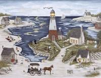 Picnic At Windy Bay Fine-Art Print