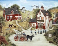 The Firemen Of Spring Valley Fine-Art Print