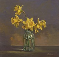 Canning Jar Daffs Fine-Art Print