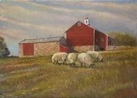 Morning De Township Fine-Art Print