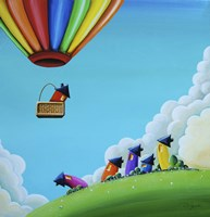 Up, Up, and Away Fine-Art Print