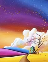 Autumn Skies III Fine-Art Print