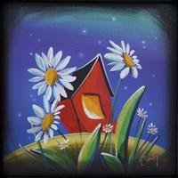 The Bashful House III Fine-Art Print