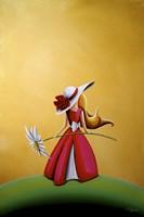 The Flower Girl Fine-Art Print