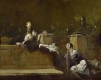 Court Scene Fine-Art Print
