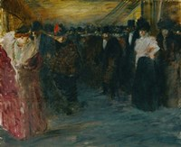 Promenoir At The Music-Hall, c. 1890 Fine-Art Print
