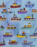 Tugboats Fine-Art Print