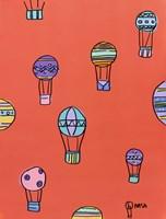 Balloons - Red Fine-Art Print