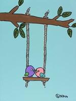 The Lovebirds Fine-Art Print