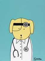 My Dog the Doctor Fine-Art Print