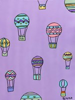 Balloons - Purple Fine-Art Print