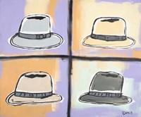 Four Hats Fine-Art Print