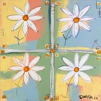 Four Daisies Fine-Art Print
