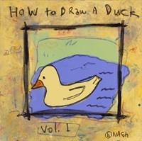 How to Draw A Duck Fine-Art Print