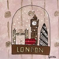 London Snow Globe Fine-Art Print