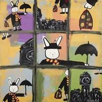 Lala Poppins Grid Fine-Art Print
