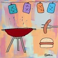 BBQ! Fine-Art Print