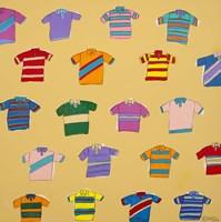 Polo Shirts - Yellow Fine-Art Print