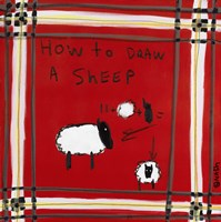 How to Draw A Sheep Fine-Art Print