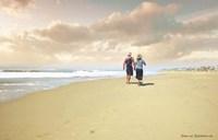 Beach Walk Fine-Art Print