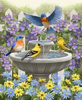 Fountain Festivities Fine-Art Print