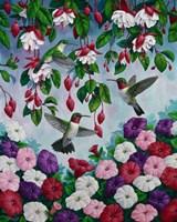 Hummingbird Heaven Fine-Art Print