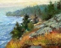 White Head, Monhegan Island, Maine Fine-Art Print