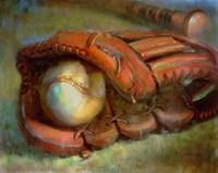 The American Dream - Baseball and Glove 9 Fine-Art Print