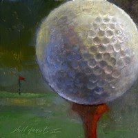 Golf ball Fine-Art Print