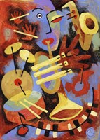 Jazz Player Fine-Art Print