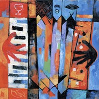 Accordion Player Fine-Art Print