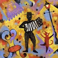 Accordionist Fine-Art Print