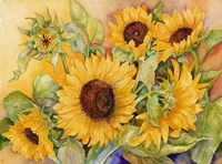 A Cutting of Sunflowers Fine-Art Print