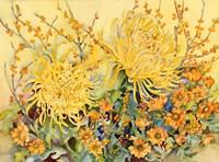 Fall Chrysanthumums Fine-Art Print