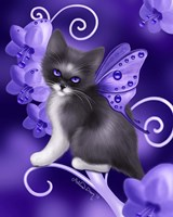 Amethyst Cat Fine-Art Print