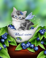 Blueberry Kitten Fine-Art Print