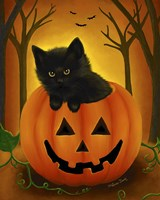 Halloween Kitten Fine-Art Print