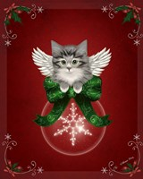 Happy Holidays Cat Fine-Art Print