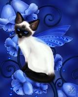 Sapphire Cat Fine-Art Print