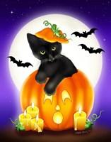 Halloween Kitty Fine-Art Print
