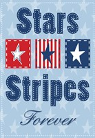 Stars and Strips Verticle Fine-Art Print